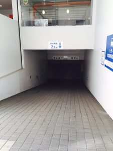 キュラーズ東池袋店の駐車場